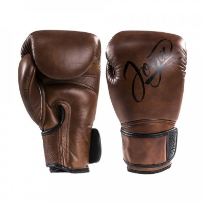 Joya ''Thailand'' Pro (kick)Boxing Gloves - Vintage Brown