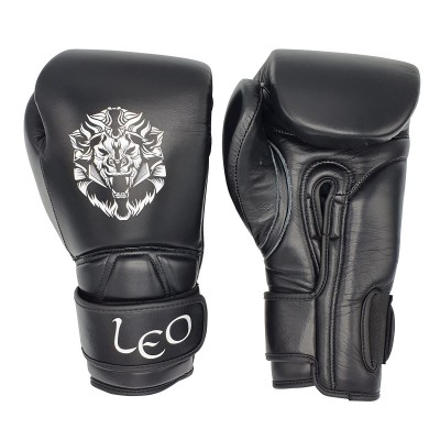 Leo Ultimate Leather Gloves double velcrow