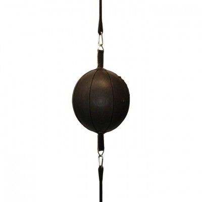 Ronin Double End Ball Leather - Zwart