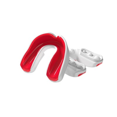 Multisports Gel Mouthguard White/Red Adult